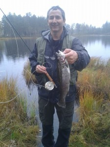 trout Oct 2013 near Orebro